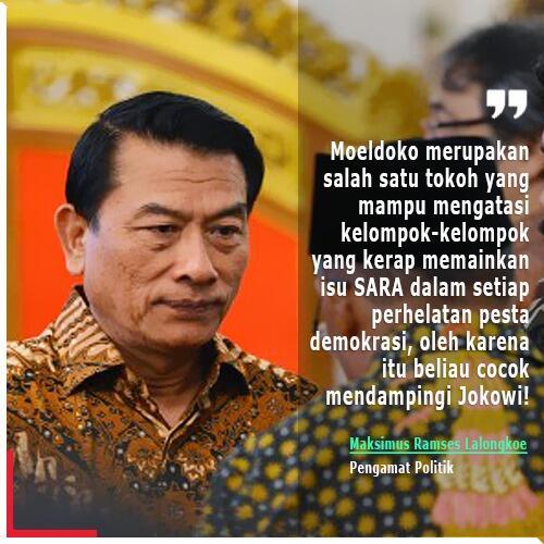 Moeldoko, Kandidat Terkuat Cawapres Jokowi