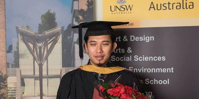 #IniIndonesiaku Tuna Netra Sabet Beasiswa di 8 Negara