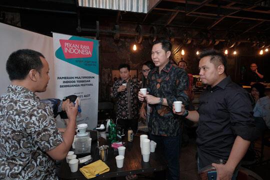 Hadirkan Coffee Area, Jadikan Pekan Raya Indonesia 2018 Bakal 'Makin Seru'!