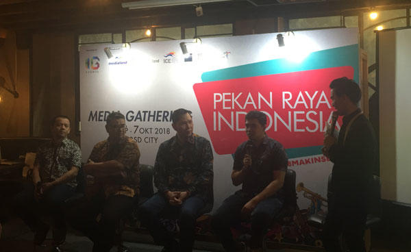 Selama 10 Hari Digelar, Pekan Raya Indonesia 2018 Akan Manjakan Penikmat Kopi