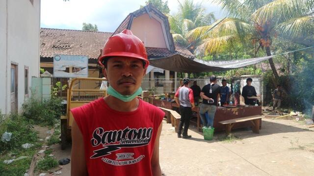 Desa Santong Swadaya Dapur Umum