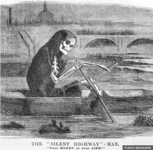 1858, Ketika Sungai di London Berbau bak Racun
