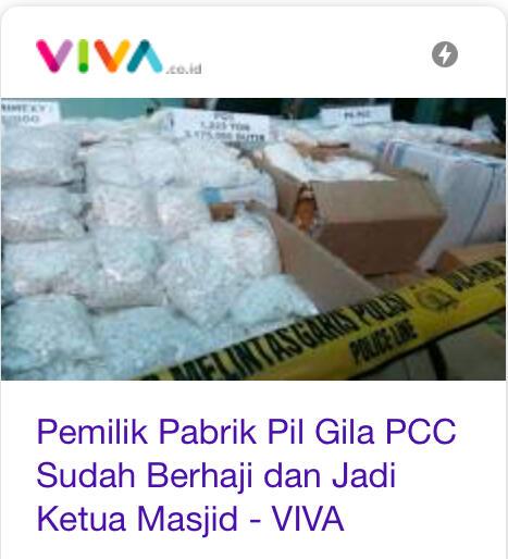 Polisi Ungkap Modus Operasi Pabrik Pil Gila PCC Satu Ton