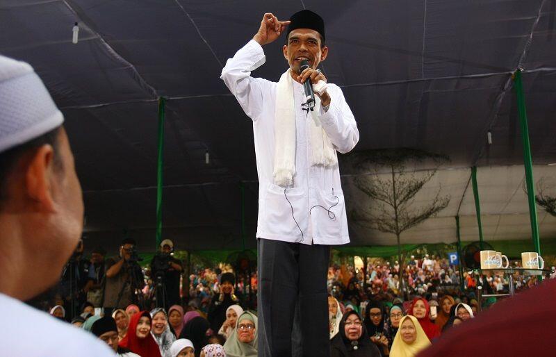 Tolak Jadi Cawapres, Abdul Somad: Saya Lebih Tepat Jadi Dai
