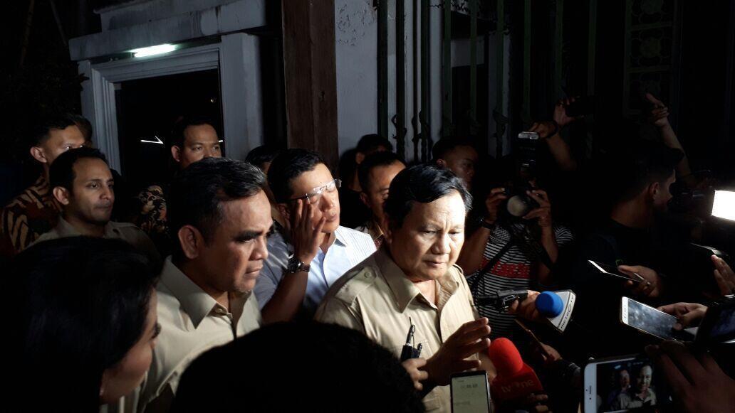 PAN Sarankan Cawapres dari Non Parpol, Gerindra Pertimbangkan Kader Parpol
