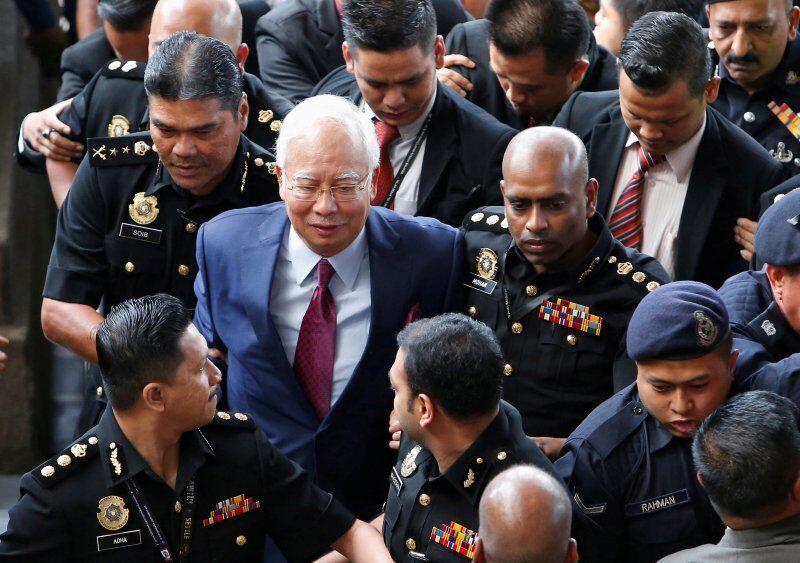 Mantan PM Malaysia Najib Razak Dituntut dengan Pasal Pencucian Uang