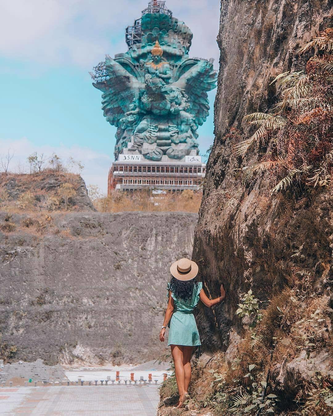 Setelah Menanti 28 Tahun, Ini 10 Potret Kemegahan Patung GWK di Bali