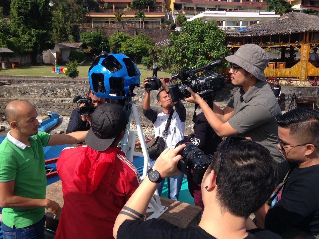 Kembangkan Trekker, Google Rekam Visual Danau Toba Sumatera Utara