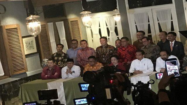 Ma'ruf Amien, Cawapres Koalisi Pendukung Jokowi