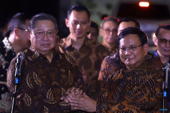 Tentukan Cawapres, Prabowo dan SBY Akan Bersumpah Bersama