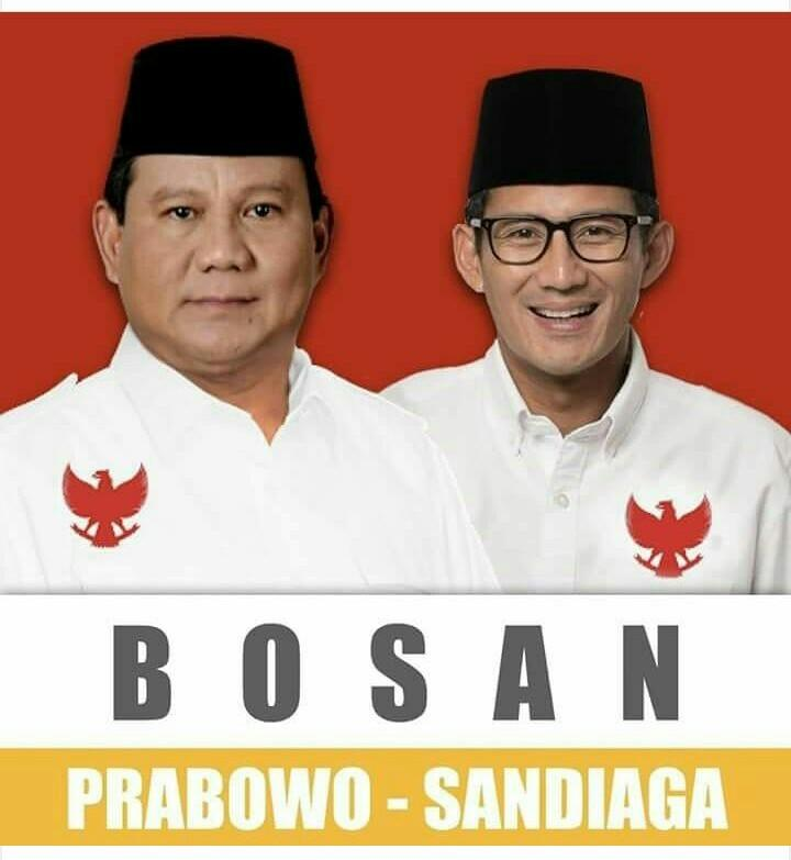 Fix Wowo Dan Uno Maju Jadi Capres Dan Cawapes Minus Demokrat.
