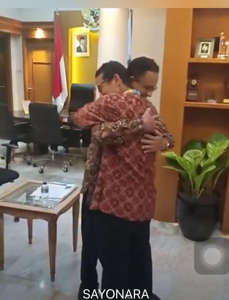 Jadi Cawapres Prabowo, Sandiaga Pamitan ke Anies