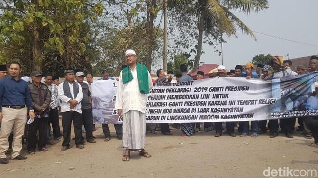 Pengelola Kesultanan Banten Cabut Izin Deklarasi #2019GantiPresiden