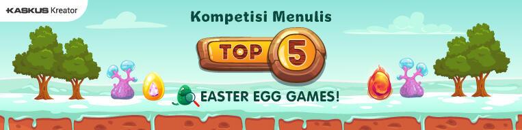 Penampakan Easter Eggs Pada Beberapa Games Yang Cukup Unik Menurut Ane