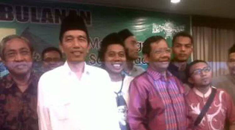 Jokowi Umumkan Mahfud MD sebagai Cawapresnya Sore ini