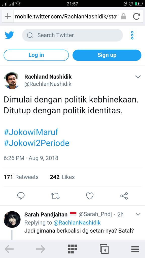 Wasekjen Partai Demokrat Bercuit Jokowi2Periode