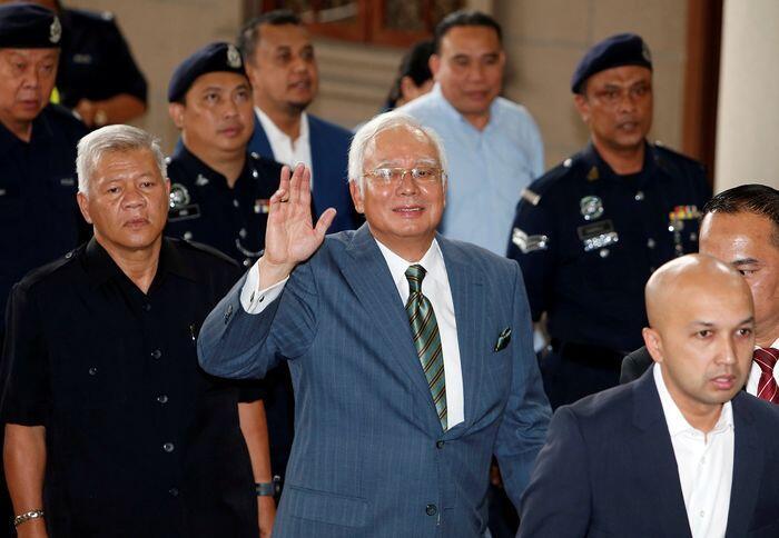 Tiga dakwaan pencucian uang Najib Razak
