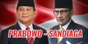 Prabowo Gandeng Sandiaga Uno