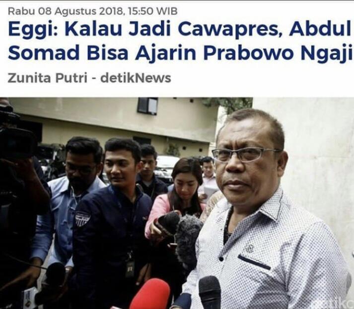 Prabowo Deklarasi Capres-cawapres Kamis Malam