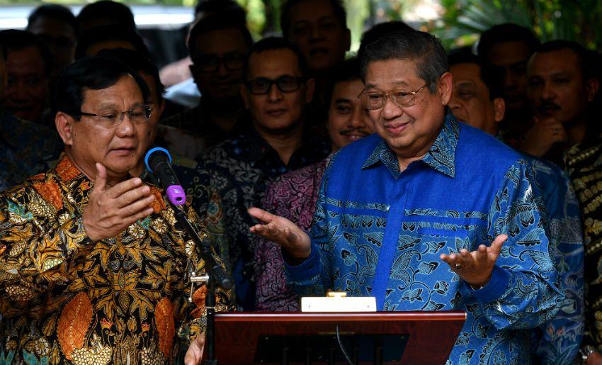 Pilpres 2019: Setelah Prabowo Pulang, SBY Gelar Rapat Darurat