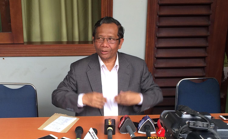 """Gagal Jadi Cawapres Jokowi, Mahfud MD: """"Saya Tidak Kecewa, Kaget Saja"""""""