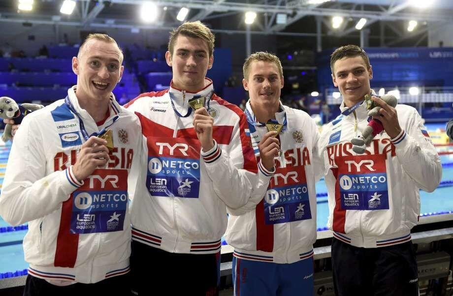 Perenang Remaja Asal Rusia Raih 4 Medali di Kejuaraan Akuatik Eropa