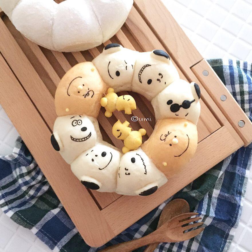 10 Roti Bentuk Animasi yang Lagi Hits, Rela Beli Gak Tega Makan!