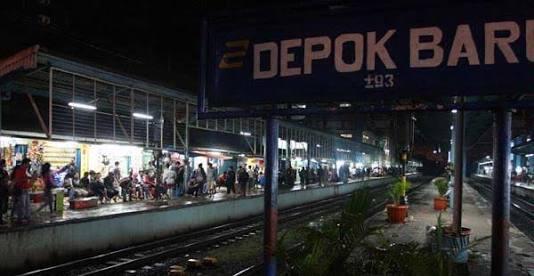 PT. KAI Merugi, Lahan Emplasmen Stasiun Depok Baru di Caplok