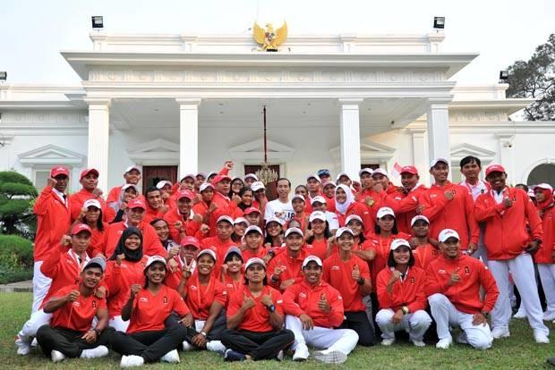 Presiden Lepas Kontingen Indonesia Asian Games 2018