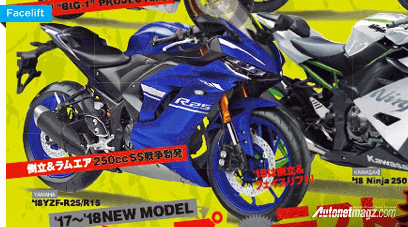 Menunggu Kehadiran Yamaha R25 Generasi Baru