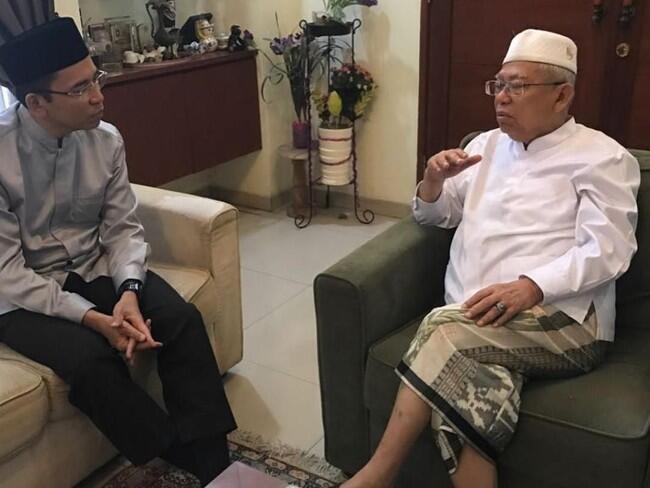 TGB Tegaskan Pihak-Pihak yang Mempolitisasi Gempa Lombok Cacat Iman