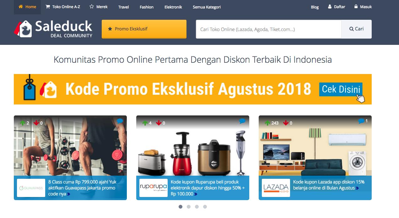 Fitur Baru Saleduck.co.id Bikin Belanja Online Makin Mudah & Murah