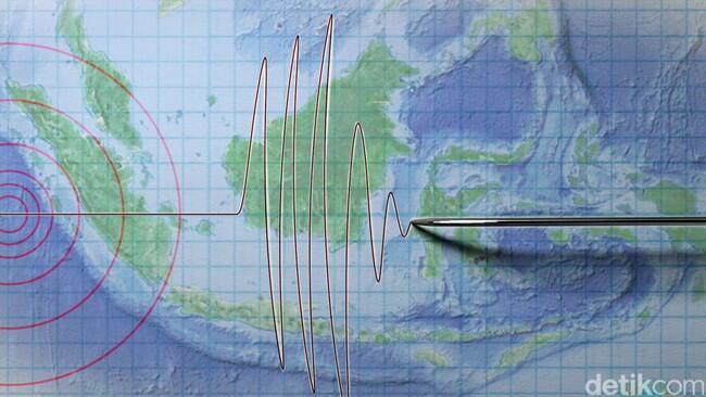 Gempa 5,1 SR Guncang Bengkulu