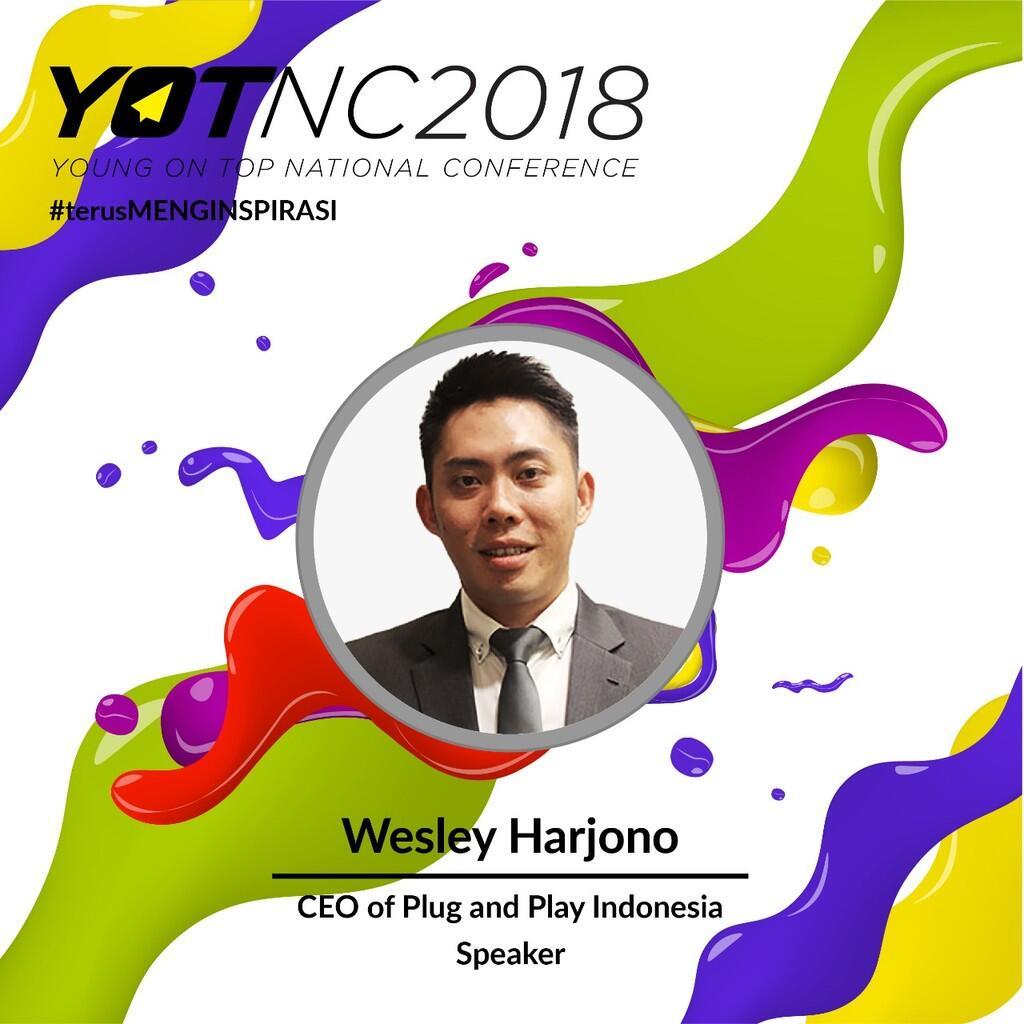 Yuk Kenalan Sama Wesley Harjono, CEO of Plug and Play Indonesia