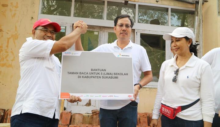 Menteri BUMN Berkunjung ke Sukabumi