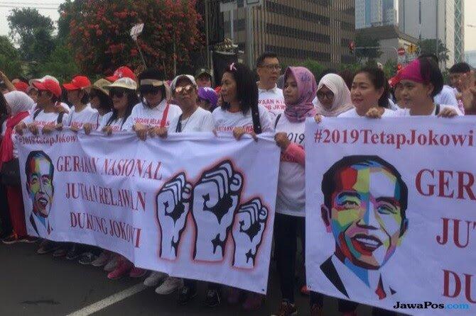 Relawan: Bukan Takabur, Jokowi Pasti Dua Periode 👍👍