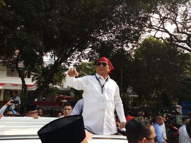 Prabowo Janji tak Lupakan Buruh