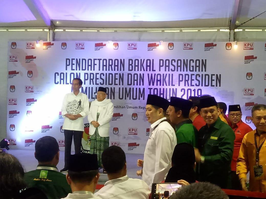 Jokowi Sebut Prabowo-Sandiaga Putra Terbaik Bangsa