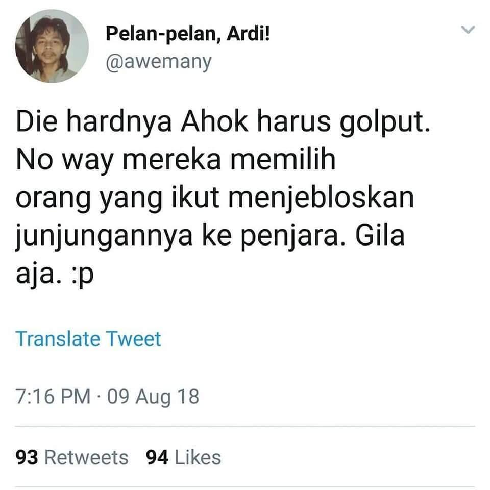 Ma'ruf Amin, Penggerak 212 yang Jadi Cawapres Jokowi