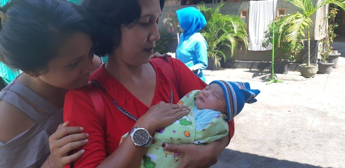 Dua Bayi Lucu Lahir di Mataram Saat Gempa 6,2 SR Mengguncang