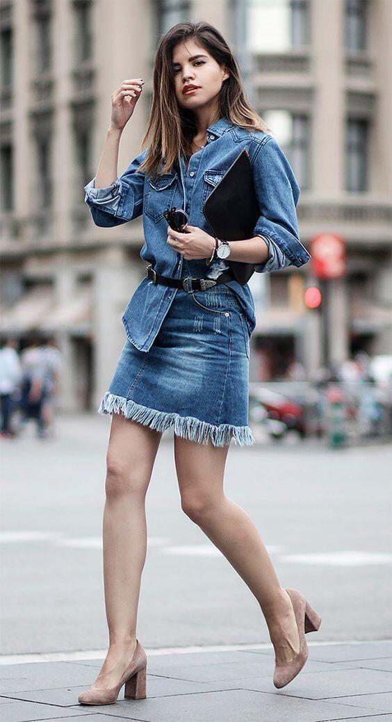 8 Mix and Match Denim Skirts yang Buat Penampilanmu Makin Stylish!