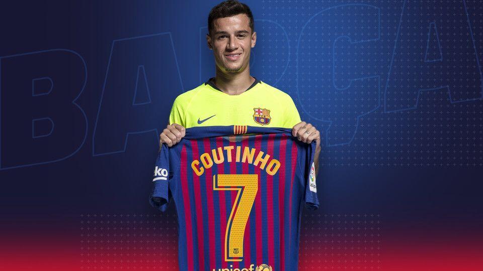 Philippe Coutinho Resmi Mengganti Nomor Punggungnya di FC Barcelona