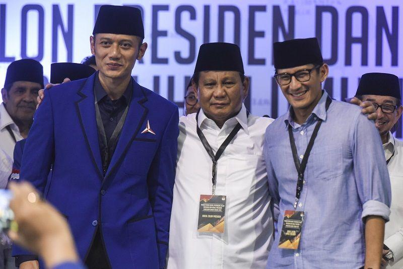 Prabowo: Demokrasi Indonesia Ada di Pundak KPU