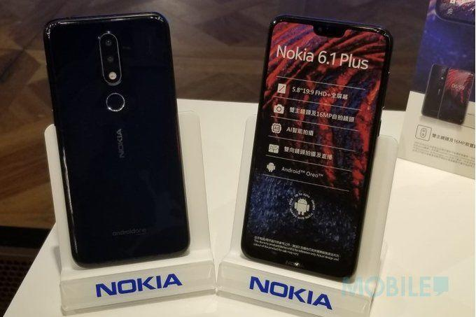 Dijual Rp4 Jutaan, Ini Spesifikasi Kece Nokia 6.1 Plus