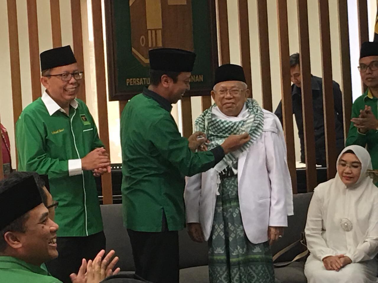 Cerita Ma'ruf Amin Ditawari Cawapres Jokowi Saat Last Minute