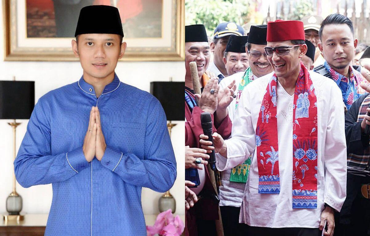AHY Didaulat Jadi Jurkamnas Prabowo-Sandiaga?