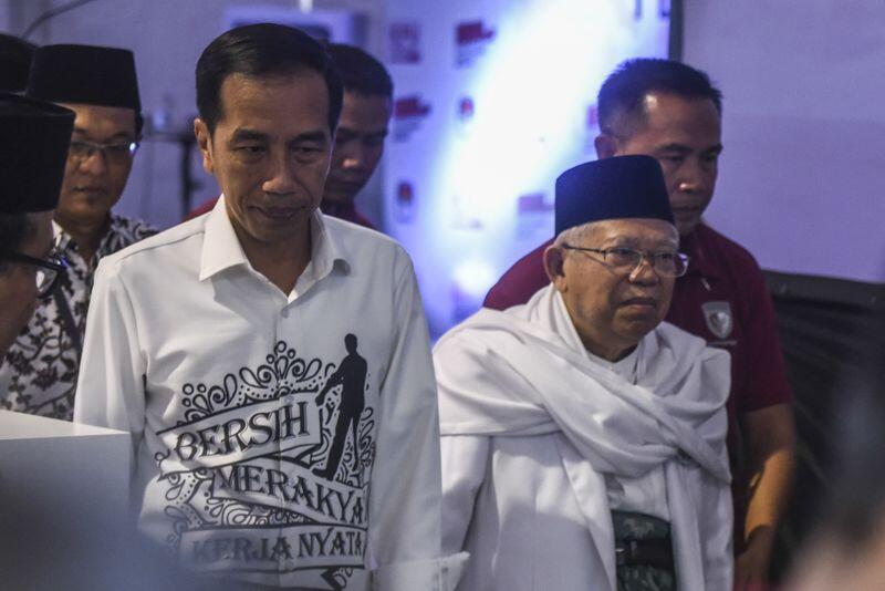 Jokowi Mendaftar ke KPU Turut Didampingi Menteri Kabinet Kerja