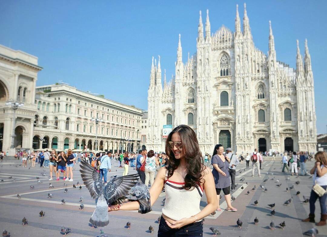 10 Ide Outfit ala Talita Bachtiar, Adik Ipar Tasya yang Hobi Traveling
