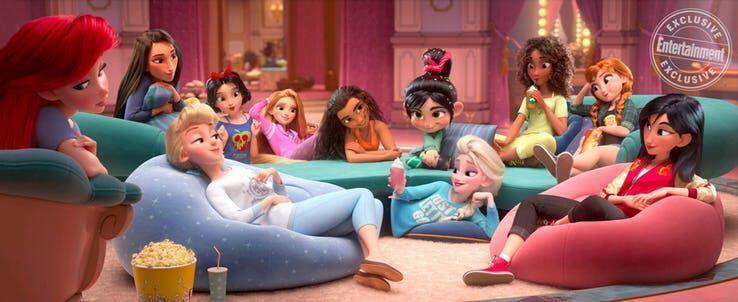 Bakal Seru, Disney Princess Tampil Lebih Kekinian di Wreck It Ralph 2