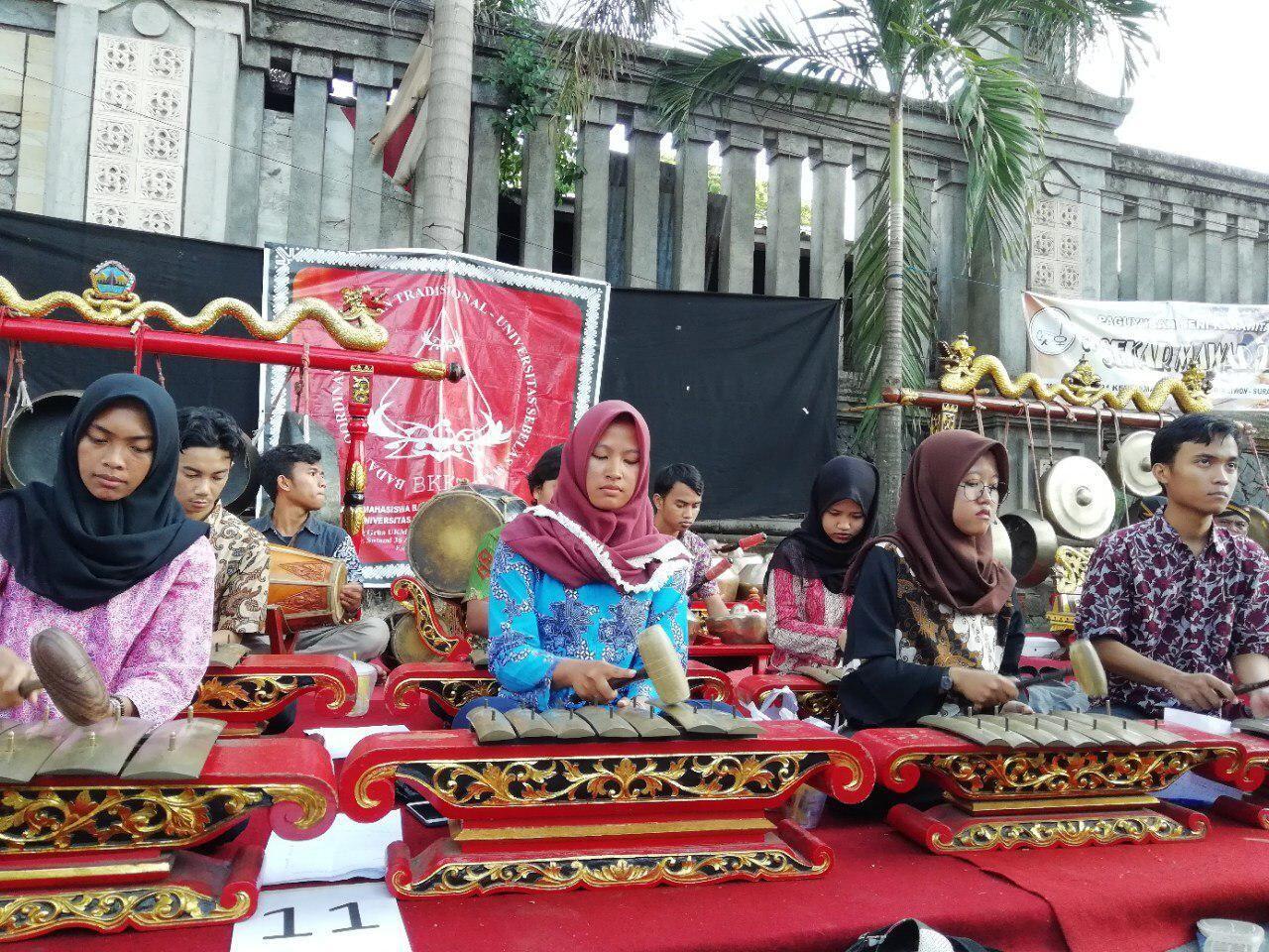Anak Muda Solo Antusias Sambut International Gamelan Festival 2018